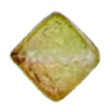 Glass Bead Cubes 8mm With Diagonal Hole Two Tone Sugar Topaz